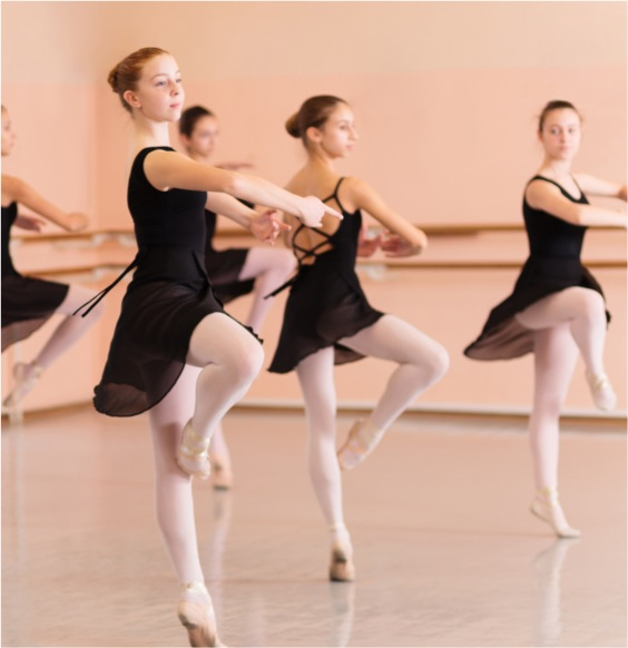 The New Forest Academy of Dance is vibrant and engaging.