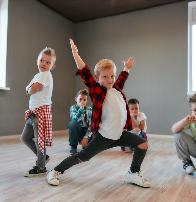 The New Forest Academy of Dance also offer a boys only class.
